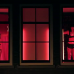 Dubstep dancers protest in the Red Light District