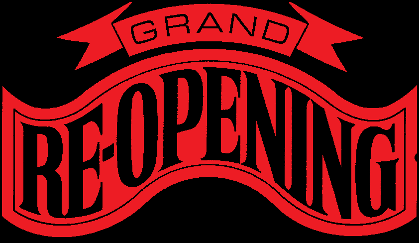 Image result for grand re opening