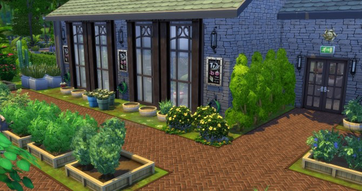 How to plant a profitable garden in the sims 4 black for Indoor gardening sims 4