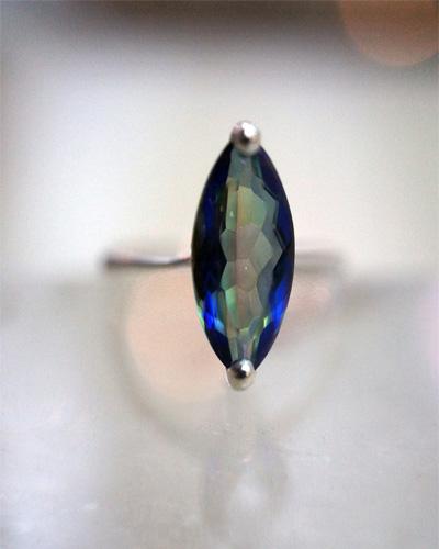 topaz ring rocks crystals