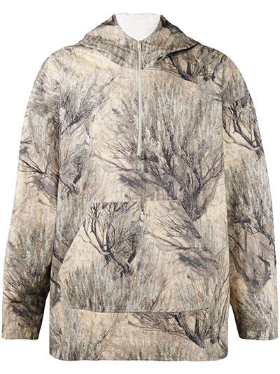YEEZY Camouflage hooded jacket